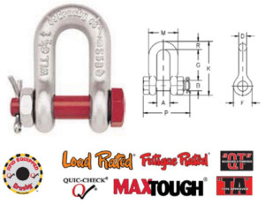 G-2150 / S-2150 Bolt Type Chain Shackles