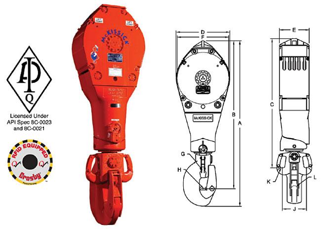 RJ Style Drilling Blocks Diagram