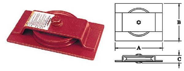 S-600-S Horizontal Lead Blocks Diagram