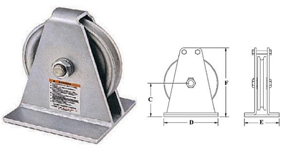G-601-S Vertical Lead Blocks Diagram