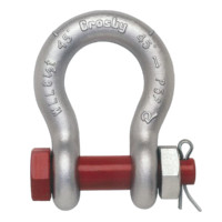 Crosby® 2130 Carbon Bolt Type Anchor Shackles