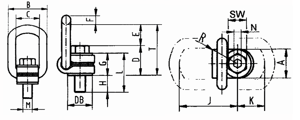 VLBG Load Ring Bolted
