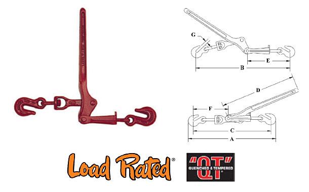 L-130 Midget Load Binders Diagram