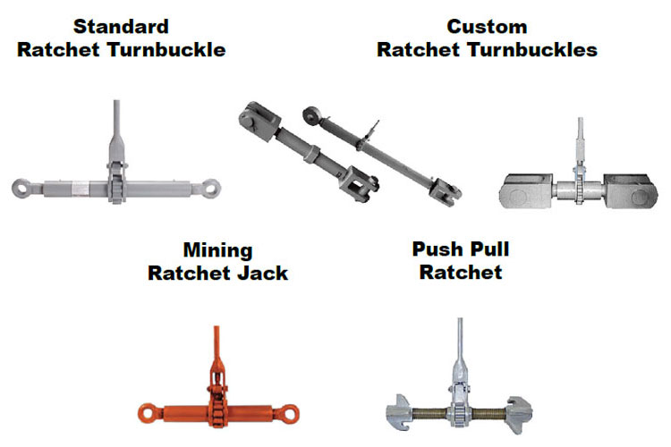 Ratchet Turnbuckles Types