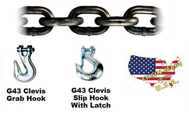High Test Chain—Grade 43 (Laclede)