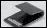 "Webbing Attachment Hardware 2"" Flat Hook 40891-18"