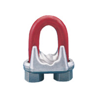 Crosby® 450 Red-U-Bolt Wire Rope Clips