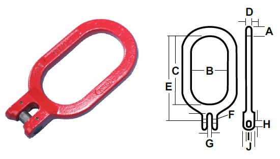 Kuplex® Master Kuplinks Diagram