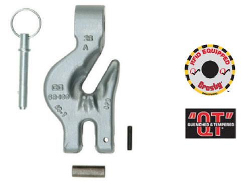 Crosby ELIMINATOR® A-1360S Single Hook Diagram