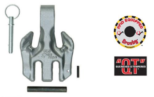 Crosby ELIMINATOR® A-1360D Double Hook Diagram