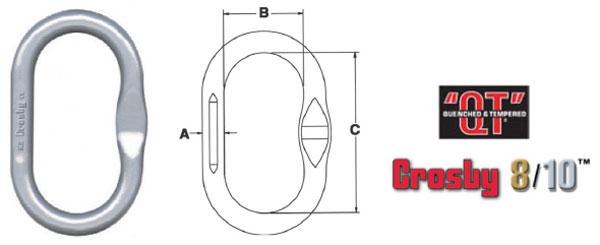 Grade 100 A-1342N Master Link Diagram