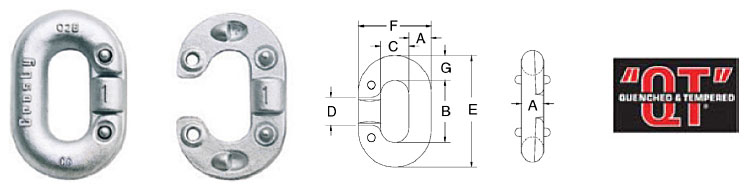 """G-335 / S-335 """"Missing Link""""® Replacement Links Diagram"""