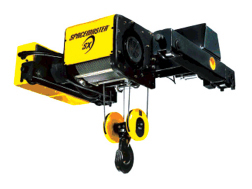 Double Girder Trolley Spacemaster® Wire Rope Hoists