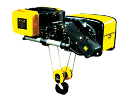 Low Headroom Trolley Spacemaster® Wire Rope Hoists
