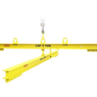 5 Ton Multi-Bail Lifting Beam with Rotating Beam
