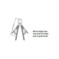 Kuplex® Grade 80 Mechanical Adjustable Double Loop Chain Slings