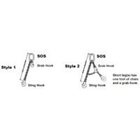 Kuplex® Grade 80 Mechanical Adjustable Single Chain Slings