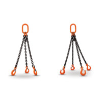 HERC-ALLOY 1000 TRIPLE & QUAD CHAIN SLINGS