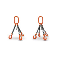 HERC-ALLOY 800 TRIPLE CHAIN & QUAD CHAIN SLINGS