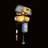 Electric Hoists: Accolift Electric Chain Hoists—Hook Suspension