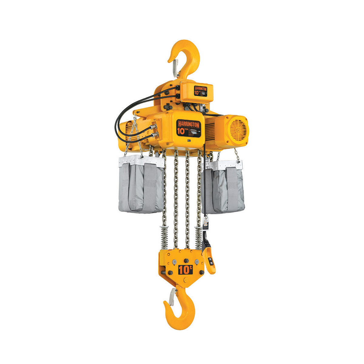 Harrington NER/ER 3-Phase Large Capacity Electric Chain Hoist