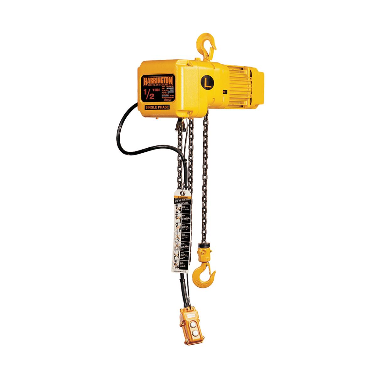Harrington SNER Single Phase Electric Chain Hoists