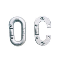 Crosby® 334 Galvanized Pear Shape Missing Link Replacement Links