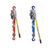 Manual Hoists: Medium Frame Web Strap Ratchet Winch Hoists