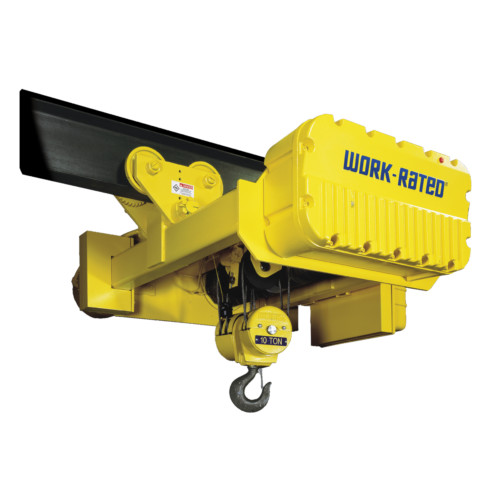 Wire Rope Hoists: Work-Rated Hoists