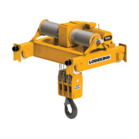 Wire Rope Hoists: LodeKing High Capacity Electric Wire Rope Hoist