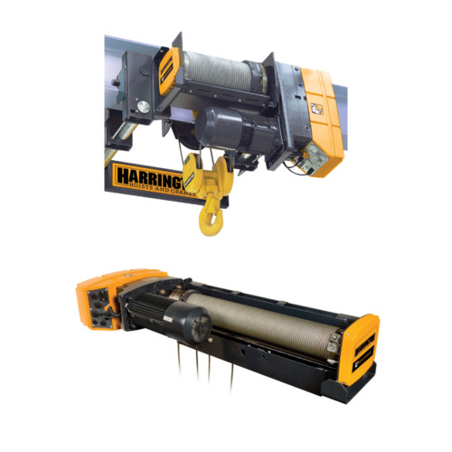Wire Rope Hoists: RHN Series Electric Wire Rope Hoists