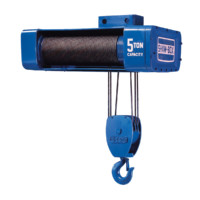 Wire Rope Hoists: 800 Series Wire Rope Hoist & Trolley