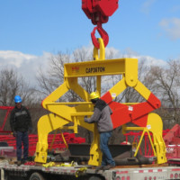36-Ton Back Up Roll Lifter