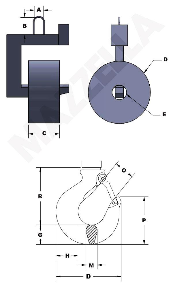 Below-The-Hook Design Sheet: Coil Lifter