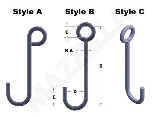 Below-The-Hook Design Sheet: J-Hooks