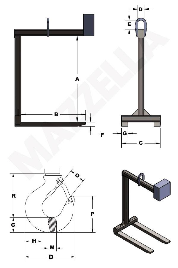 Below-The-Hook Design Sheet: Pallet Lifter