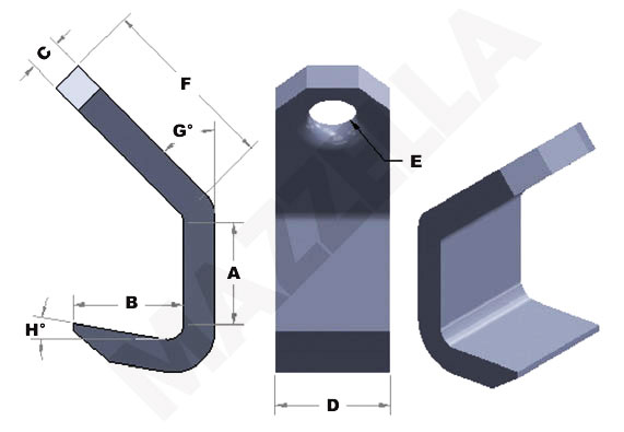 Below-The-Hook Design Sheet: Plate Hooks