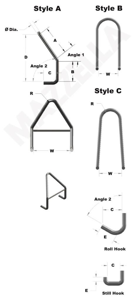 Below-The-Hook Design Sheet: Stirrup Hooks
