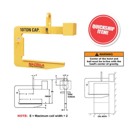 Heavy Duty C-Hooks (Model 82)