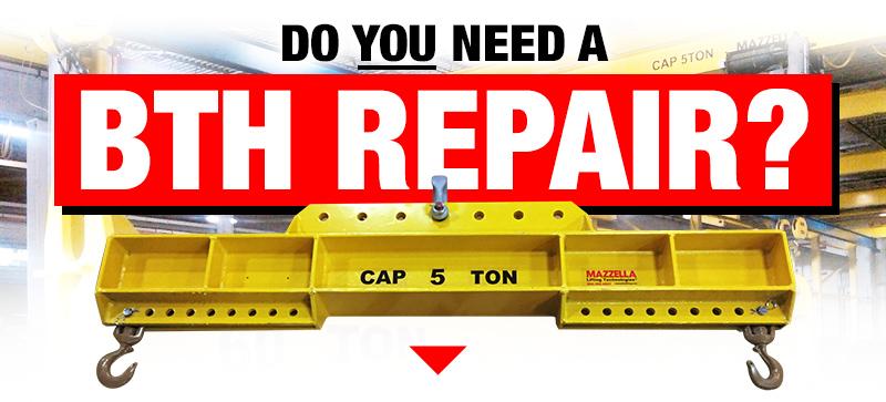 Below-The-Hook Repairs & Recertification: Need a BTH Repair?