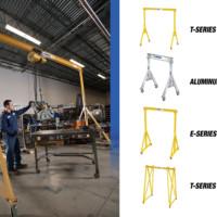 Overhead Cranes: Spanco Portable Gantry Cranes