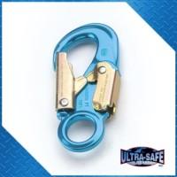 Small Aluminum Hook, 3,600 lbs Gate, 1″ Throat