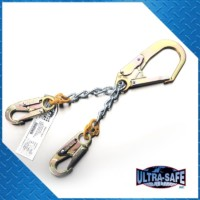 """Chain Rebar Assembly – 22"""" with Large Rebar Hook"""