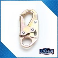 Double-Locking Lanyard Snap, 3,600 lbs Gate, 3/4″ Throat