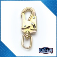 Double-Locking Swivel Snap with Load Indicator, 3,600 lbs Gate, 3/4″ Throat