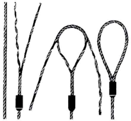 Single-Part Body Mechanically Spliced Wire Rope Slings 1