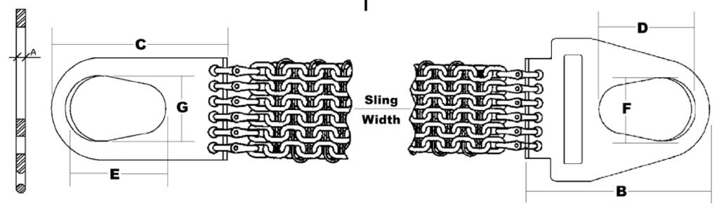 Mazzella Monster Mesh Sling Diagram