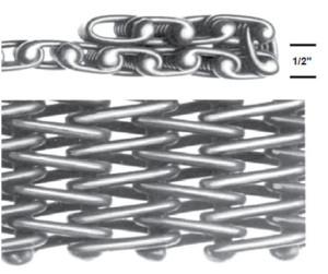 Wire Mesh Slings 10 Gauge Heavy Duty