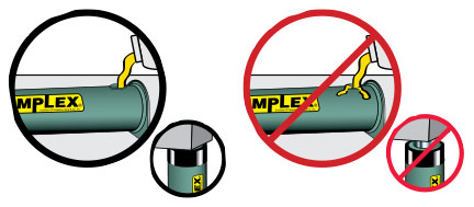 5. Fill Oil Reservoirs With Cylinder Retracted.