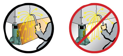 12. Avoid Extreme Heat Or Weld Splatter.